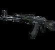 AK-47   Изумрудные завитки (Поношенное)