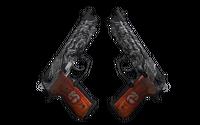 StatTrak™ Dual Berettas | Dualing Dragons (Factory New)