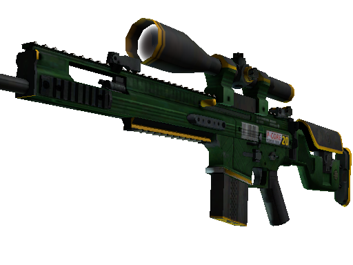 SCAR-20 | Powercore (Battle-Scarred)