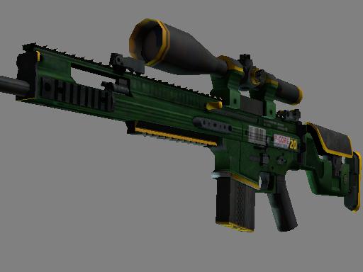 SCAR-20   Powercore (Battle-Scarred)