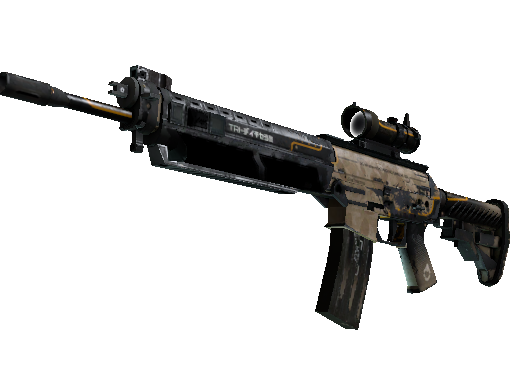 SG 553 | Triarch (Battle-Scarred)