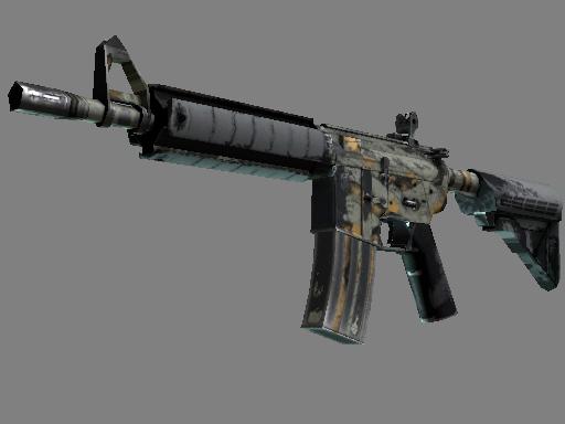 M4A4 | Modern Hunter (Well-Worn)