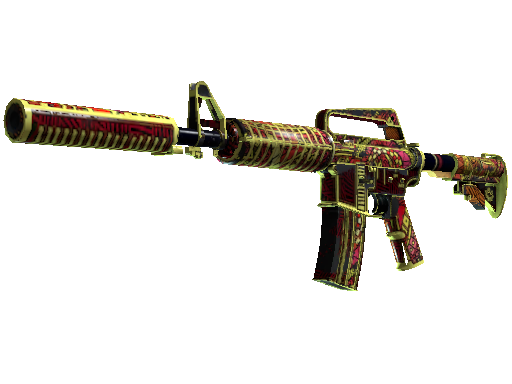 M4A1-S | Chanticos Fire (Battle-Scarred)