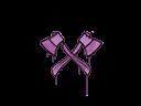 Sealed Graffiti | X-Axes (Bazooka Pink)