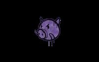 Sealed Graffiti | Piggles (Monster Purple)