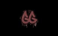 Sealed Graffiti | GGEZ (Brick Red)
