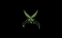 Sealed Graffiti | X-Knives (Battle Green)