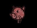 Sealed Graffiti | Piggles (Blood Red)