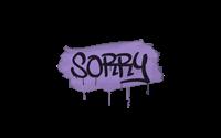 Sealed Graffiti | Sorry (Violent Violet)