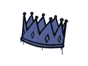 Sealed Graffiti | King Me (SWAT Blue)