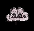 Запечатанный граффити   Минус два (Траншейный розовый)