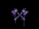 Sealed Graffiti   X-Axes (Monster Purple)