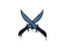 Sealed Graffiti | X-Knives (Monarch Blue)