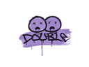 Sealed Graffiti | Double (Violent Violet)