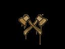 Sealed Graffiti | X-Axes (Desert Amber)