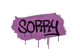 Sealed Graffiti | Sorry (Bazooka Pink)