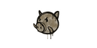 Sealed Graffiti   Piggles (Dust Brown)