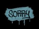 Sealed Graffiti | Sorry (Wire Blue)