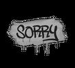 Запечатанный граффити | Прости (Акулий белый)