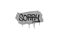 Sealed Graffiti | Sorry (Shark White)
