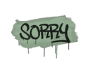 Sealed Graffiti | Sorry (Cash Green)