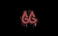 Sealed Graffiti | GGEZ (Blood Red)