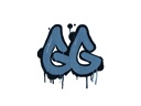 Sealed Graffiti | GGEZ (Monarch Blue)