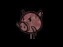 Sealed Graffiti | Piggles (Brick Red)