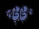 Sealed Graffiti | GGWP (SWAT Blue)
