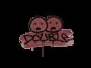 Sealed Graffiti | Double (Brick Red)