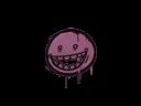 Sealed Graffiti   Mr. Teeth (Princess Pink)