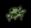 Запечатанный граффити   Песик (Боевой зеленый)