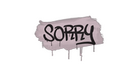 Sealed Graffiti | Sorry (War Pig Pink)