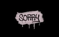 Sealed Graffiti | Sorry (War Pig Pink)
