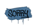 Sealed Graffiti | Sorry (Monarch Blue)