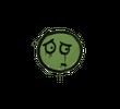 Запечатанный граффити   Волнушка (Боевой зеленый)