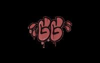Sealed Graffiti   GGWP (Blood Red)