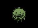 Sealed Graffiti   Mr. Teeth (Battle Green)