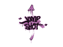 Sealed Graffiti | Jump Shot (Bazooka Pink)