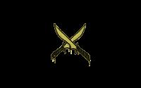 Sealed Graffiti | X-Knives (Tracer Yellow)