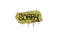 Sealed Graffiti | Sorry (Tracer Yellow)