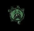 Запечатанный граффити   Плак-плак (Лесной зеленый)