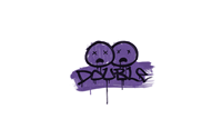 Sealed Graffiti | Double (Monster Purple)