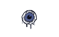 Sealed Graffiti | Eye Spy (SWAT Blue)