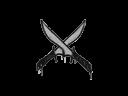 Sealed Graffiti | X-Knives (Shark White)