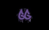 Sealed Graffiti | GGEZ (Monster Purple)