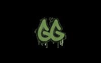 Sealed Graffiti | GGEZ (Battle Green)