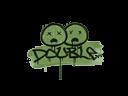 Sealed Graffiti | Double (Battle Green)