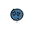 Запечатанный граффити | Волнушка (Королевский синий)