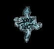 Запечатанный граффити   Выстрел в прыжке (Пластиковый синий)
